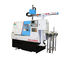 YHCK46 CNC Lathe with Automatic manipulator